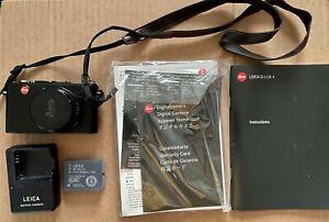 Leica D-LUX 4 10.1MP Digital Camera - Black (includes free case)