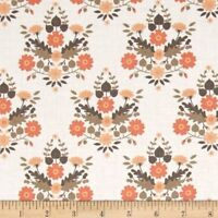 Camelot Flourish Floral Cotton Fabric  Trellis Flowers  By the Yard   BFab
