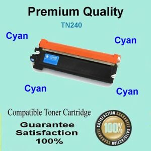 1x TN240C Toner for Brother MFC9125 MFC9325 MFC9125CN MFC9325CW CYAN