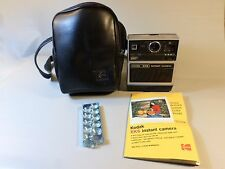 Vintage Kodak EK6 Instant camera with Kodak leather bag flash manual cartridge