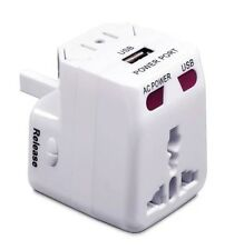 SMOOTH TRIP International Power ADAPTER Plug / USB / Power CONVERTER - FREE SHIP