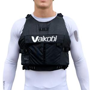NEW Pro Kayaks VXP Race PFD Life Jacket - Stealth Black