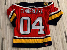 2004 Florida Panthers Hockey Authentic Game Jersey Gifted To Justin Timberlake