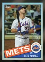 PETE ALONSO 2020 Topps Chrome 1985 REFRACTOR #85TC-18 35th Anniversary NY Mets