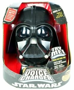 Darth Vader Voice Changer Helm Star Wars, Hasbro 2004, #85260