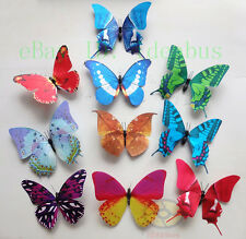 "LOT(8PCS) MiXED Butterfly Refrigerator FRIDGE MAGNET Wingspan 12~14cm =4.7""~5.5"""