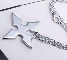 Kingdom Hearts Roxas Necklace Silver Disney 50cm US Seller