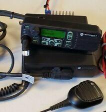 Used Motorola Xpr4550 Remote Mount Uhf 450 512 Mhz M27trh9la1an Connect Plus A