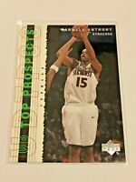 2003-04 UD Top Prospects Basketball Rookie - Carmelo Anthony RC - Denver Nuggets