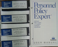 Personnel Policy Expert, by KnowledgePoint 1989. For IBM PCs.