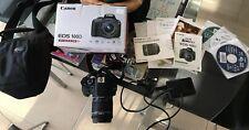 Canon EOS Rebel SL1 / EOS 100D 18.0MP Digital SLR Camera - Black (Kit w/ IS STM