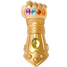 Kids Avengers Infinity War Cosplay Infinity Gauntlet Thanos Gold Gloves Plastic