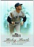 2012 Topps Tribute Baseball YOU PICK Choose Base Card Lot Set HOF MLB Break Your