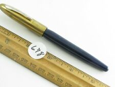 Dark Blue Eversharp (?Symphany?) Fountain Pen With A Flexible Nib