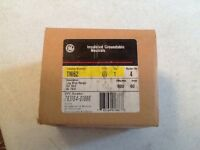 GE Insulated Groundable Neutrals TNI62 60A 600V Model # 4