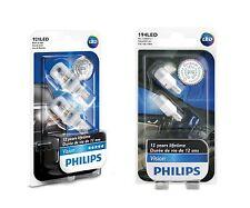 4x Philips 194 & 921 LED 6000K Super Bright Xenon White T10 T16 Light bulbs W5W