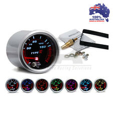 52mm Type R 7 COLOR Oil Temp Temprature Gauge Universal Fit