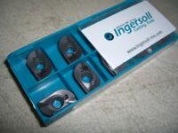 10 new INGERSOLL AOMT 180564R, Grade IN2040, Carbide Inserts