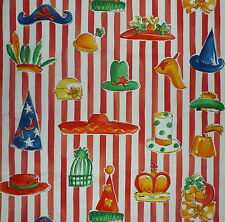 DESIGNERS GUILD Toy Box Mad Hatter Stripe Red White Cotton New Remnant