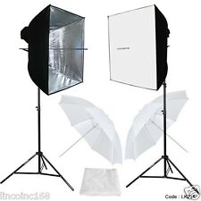 Photo Studio Video Continuous Lighting Kit Photography Softbox Light Stuido