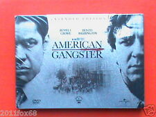 Russell Crowe Denzel Washington Ridley Scott American Gangster 2 DVD Pack Metal