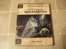 D&D 3E Forgotten Realms City of the Spider Queen