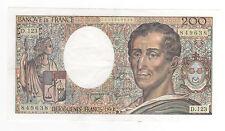 Billet de 200 francs Montesquieu, 1992, SUP+