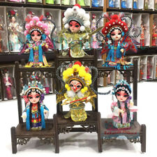 Chinese Peking Opera Mini creative Q-Doll Version Opera Figurine Doll(15cm tall)