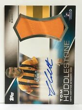 Topps Premier Gold 2014 Jumbo Autographed Relic Tom Huddlestone HULL CITY 17/50