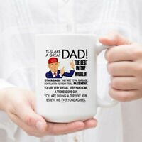 Trump Great Dad Father's Day Family Ceramic Coffee Mug Tea Cup