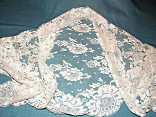 Vintage White Lace Mantilla Owned by Vet Boswell