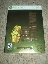 Battlefield: Bad Company Gold Edition (Microsoft Xbox 360, 2008) NEW Sealed