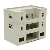 HO Scale building ( Apartment uilding ) 1:100 For HO Gauge Model Train