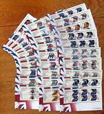 2012 londres jeux olympiques fdc collection de 29 combattue fdc dans royal mail album
