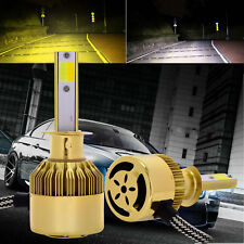 New Dual Color Automotive LED Headlight H1 Bulbs Globes 76W 9600LM 3000K/6000K