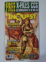 Inquest Magazine #22 February 1997 With Bonus Cards & X-Files Counters Sealed