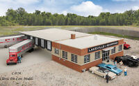 Cross Dock Truck Facility HO 1/87 Structure Kit Walthers Cornerstone 933-4131