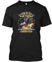 American Christian Patriot - I Stand For Our Flag Hanes Tagless Tee T-Shirt