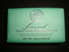 New Somerset Toiletry Made in Portugal 10.58oz 300g Luxury Bath Bar Soap Seaweed
