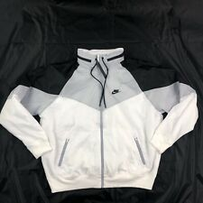 Nike Sportswear Packable Windrunner Jacket White Black AR2209-100 Men's XL-XXL