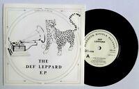 "NEAR MINT! DEF LEPPARD ROCKS OFF EP RIDE INTO THE SUN MSB 001 7"" VINYL 45 NM EX+"