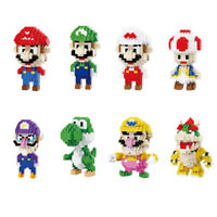 Balody Super Mario Series 300+ Figure DIY Mini Diamond Blocks Building Toy Gift