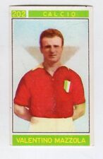 figurina - CAMPIONI DELLO SPORT PANINI 1967/68 - NUMERO 202 CALCIO MAZZOLA