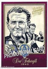 2015 Select Honours Promotional Card (BSK65) Des FOTHERGILL Collingwood