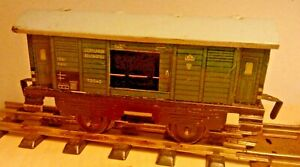 HWN Scale 0 72040 Luggage Car Pwg Green German Reichsbahn 1947 US Zone Of