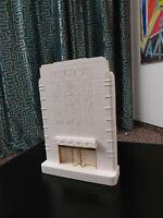 Skulptur/Modell News Building New York, Art Deko, Ikone der Architekturgeschicht
