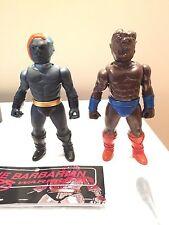 2 X Frenzy Bros Vinyl Toy Sofubi Kaiju Zollmen Medicom