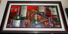 "DIMA GORBAN  ""CHATEAU MONTELENA""   ORIGINAL FRAMED OIL PAINTING ON CANVAS ""2006"""