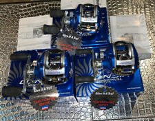 3 Team Daiwa Viento Baitcast Reels - Boxes Papers ~ Right hand reel ~ NO RESERVE