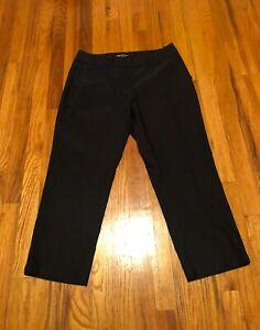 NIKE GOLF Women's Dri-Fit Cropped Pant - BLACK - size 8